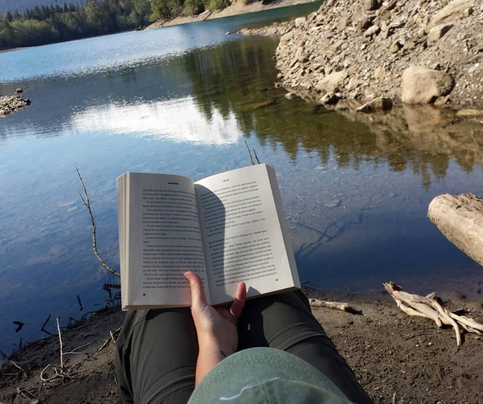 Reading at Baker Lake