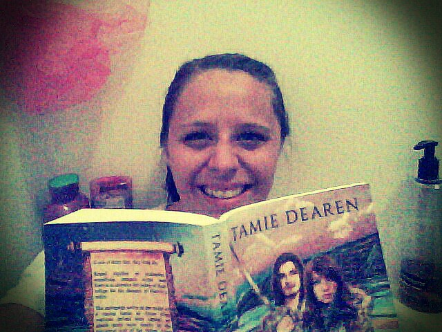 I love to relax in a warm bath with a good book!