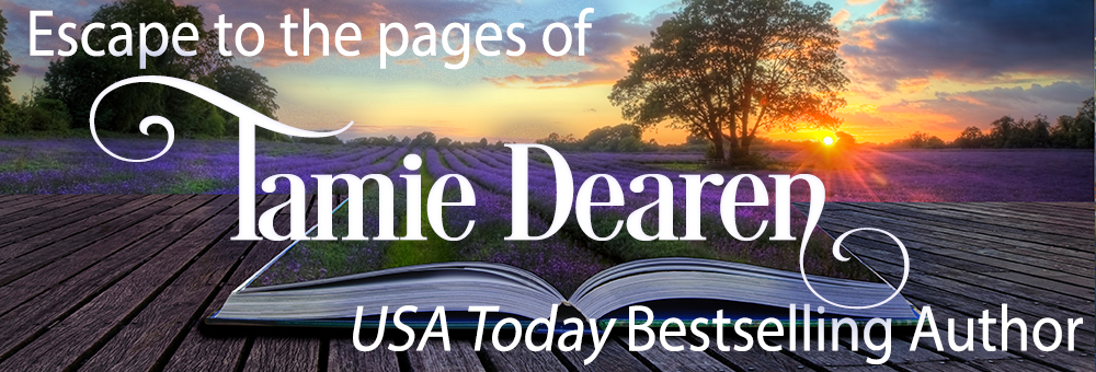 Tamie Dearen, USA Today Bestselling Author